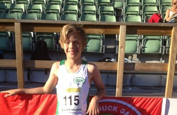 3. plass til Scott på Donald Duck Games - Bislett