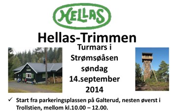 Hellas-Trimmen - søndag 14. september