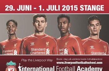Liverpool FC International Football Academy 29.juni-1.juli