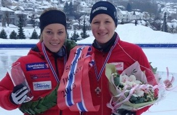 NM sprint, 1. og 3. plass til Martine og Inga Anne