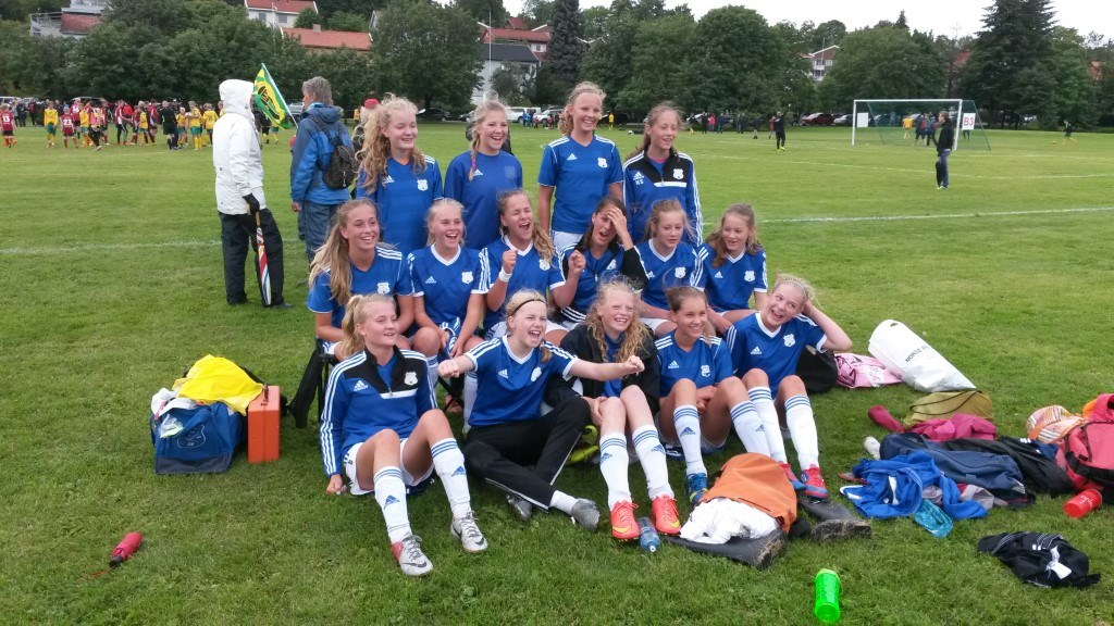 Lagbilde J14 Norway Cup 2015-07-26