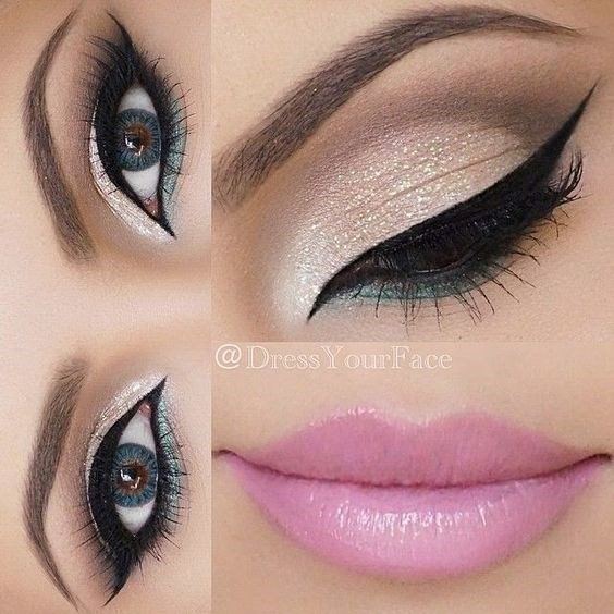 Pretty Pink Lip Makeup For more style n makeup ideas Click on http://facebook.com/inder.kaur13: