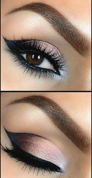 Tutorial: Beautiful Smokey Eye Makeup - Want to do it yourself? Click on the image for the tutorial! one direction: