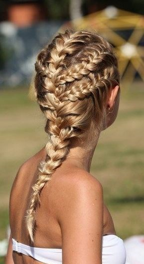 How to do awesome Summer Braids found on Byrdie.com Brought to you from Skoother.com for DIY beautiful soft smooth feet.: